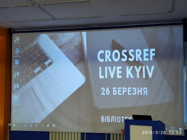 Crossref LIVE Kyiv